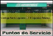 Teléfono y Dirección Servientrega, Puerto Leguizamo Cll 4, Leguizamo, Putumayo