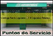 <i>servientrega Puerto Leguizamo Cll 4</i> Leguizamo Putumayo