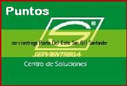 <i>servientrega Punta Del Este</i> San Gil Santander