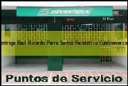 Teléfono y Dirección Servientrega, Raul Ricardo Parra Santos, Facatativa, Cundinamarca