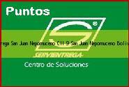 <i>servientrega San Juan Nepomuceno Cll 9</i> San Juan Nepomuceno Bolivar
