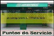 Teléfono y Dirección Servientrega, Solarte Av 3, Pitalito, Huila