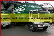 Teléfono y Dirección Servientrega, Supermercados El Ahorro S.A., Santa Rosa De Cabal, Risaralda