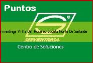 Teléfono y Dirección Servientrega, Villa Del Rosario, Cucuta, Norte De Santander