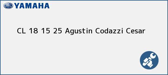 Teléfono, Dirección y otros datos de contacto para CL 18 15 25, Agustin Codazzi, Cesar, Colombia