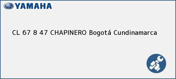 Teléfono, Dirección y otros datos de contacto para CL 67 8 47 CHAPINERO, Bogotá, Cundinamarca, Colombia