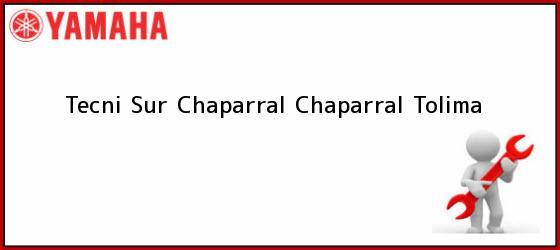 Teléfono, Dirección y otros datos de contacto para Tecni Sur Chaparral, Chaparral, Tolima, Colombia