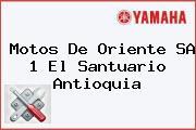 Motos De Oriente SA 1 El Santuario Antioquia