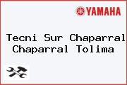 Tecni Sur Chaparral Chaparral Tolima