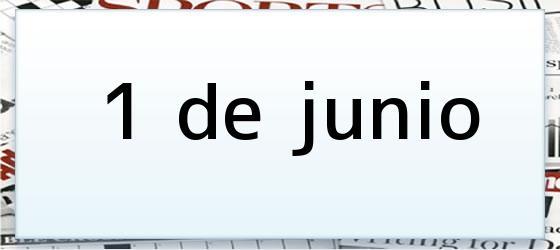 1 de junio