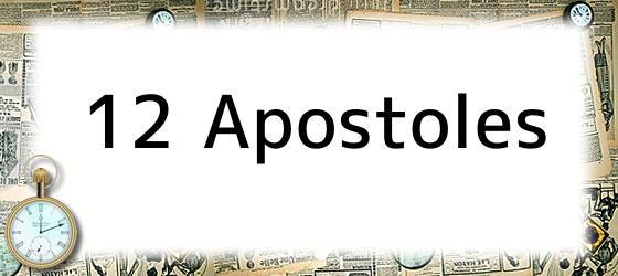 12 Apostoles