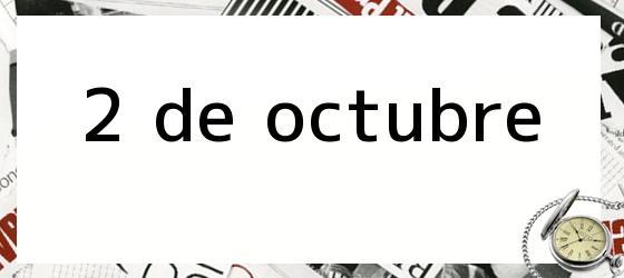 2 de octubre