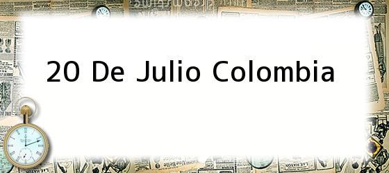 20 De Julio Colombia