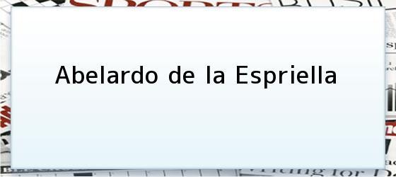 Abelardo de la Espriella