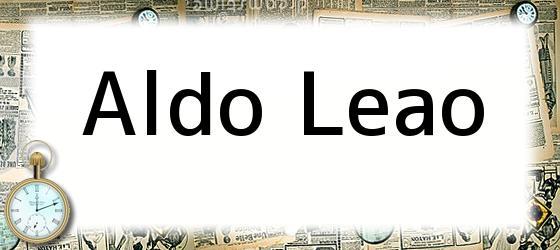 Aldo Leao