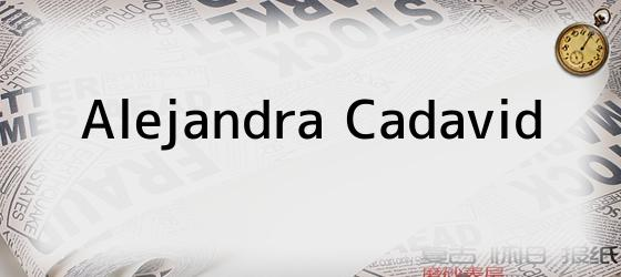 Alejandra Cadavid