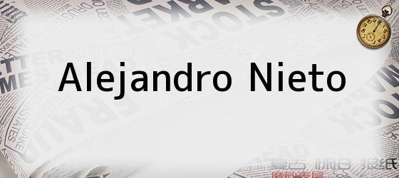 Alejandro Nieto