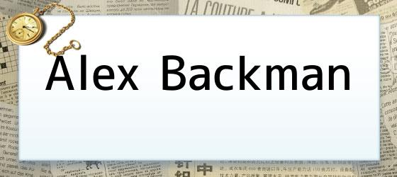 Alex Backman