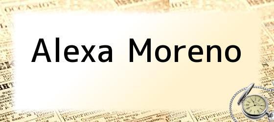 Alexa Moreno