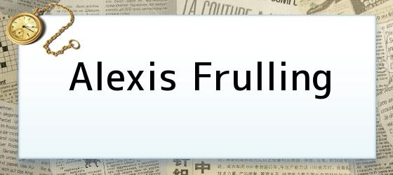 Alexis Frulling