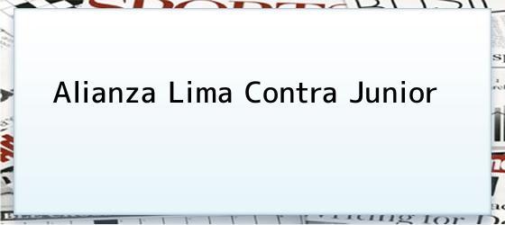 Alianza Lima Contra Junior