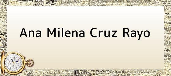 Ana Milena Cruz Rayo