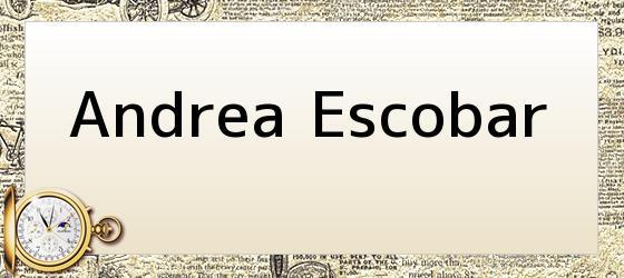 Andrea Escobar