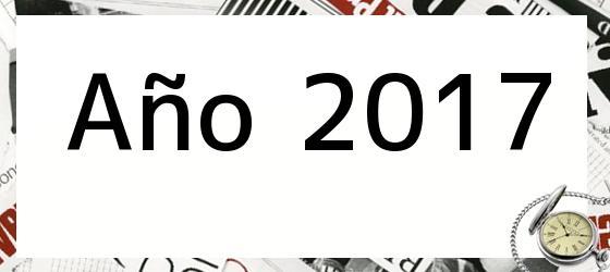 Año 2017