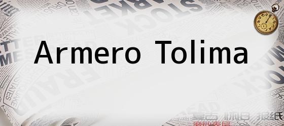 Armero Tolima