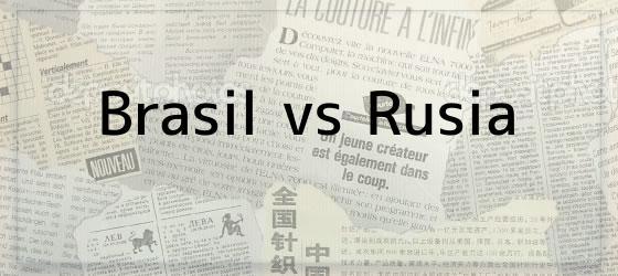 Brasil vs Rusia