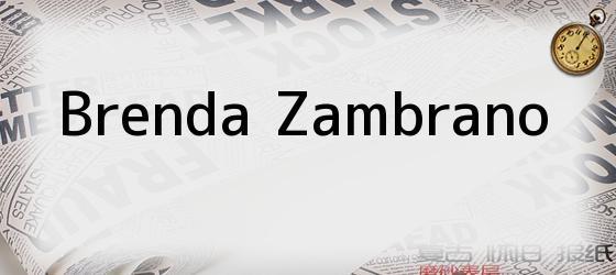 Brenda Zambrano