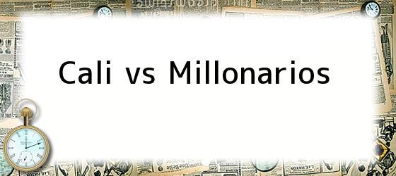 Cali vs Millonarios