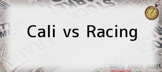 Cali vs Racing