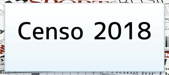 Censo 2018