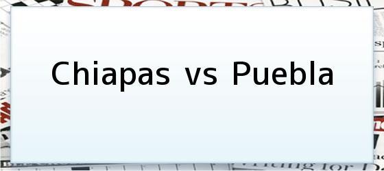 Chiapas vs Puebla