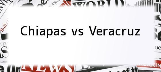 Chiapas vs Veracruz