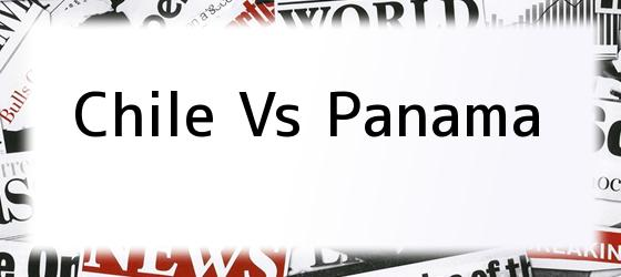 Chile Vs Panama