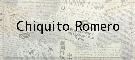 Chiquito Romero