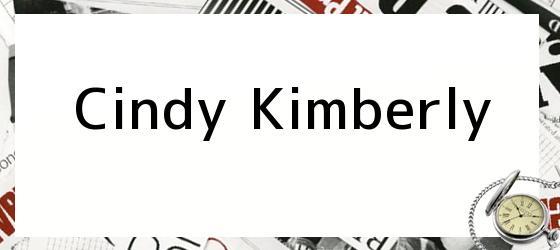 Cindy Kimberly