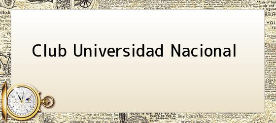 Club Universidad Nacional