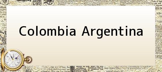 Colombia Argentina