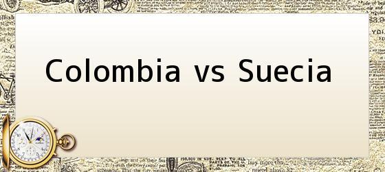 Colombia vs Suecia