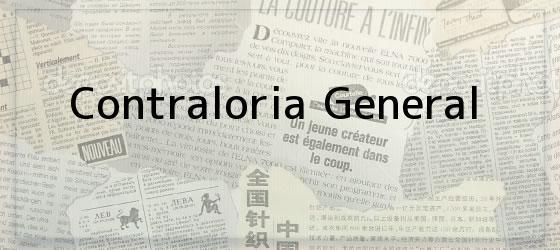 Contraloria General