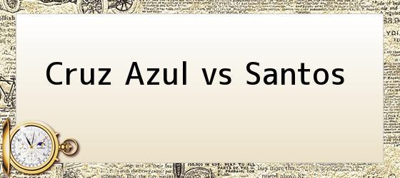 Cruz Azul vs Santos