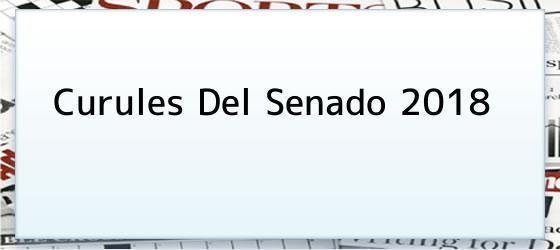 Curules Del Senado 2018