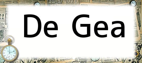 De Gea