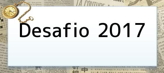 Desafio 2017