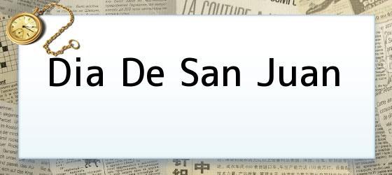 Dia De San Juan