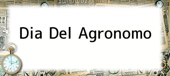 Dia Del Agronomo