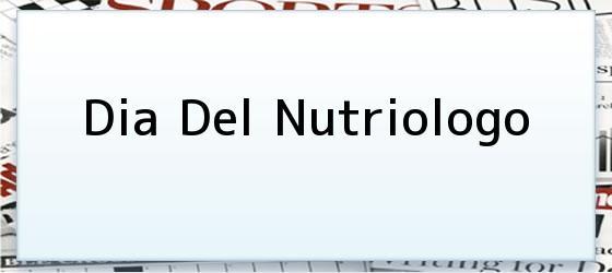 Dia Del Nutriologo